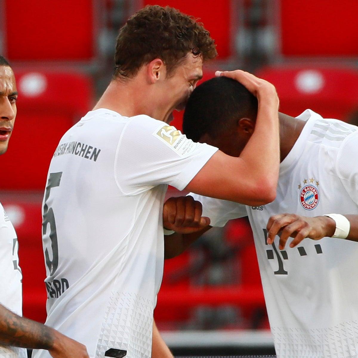 Union Berlin 0-2 Bayern Munich: Bundesliga – as it happened ...