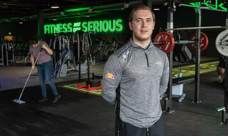 JD Gym manager Jordan Powles. 'I imagine everyone will want to come and have a look.'