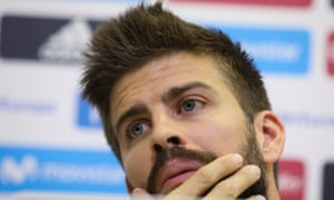 Gerard Piqué said he has considered the Spain set-up 'a family' since the age of 15.