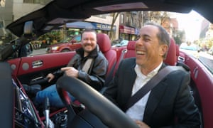 Seinfeld with Ricky Gervais (again) on Comedians in Cars Getting Coffee.