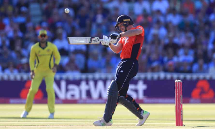 Jos Buttler hit 61 off 30 balls, including England's fastest half-century in the format off 22 balls.