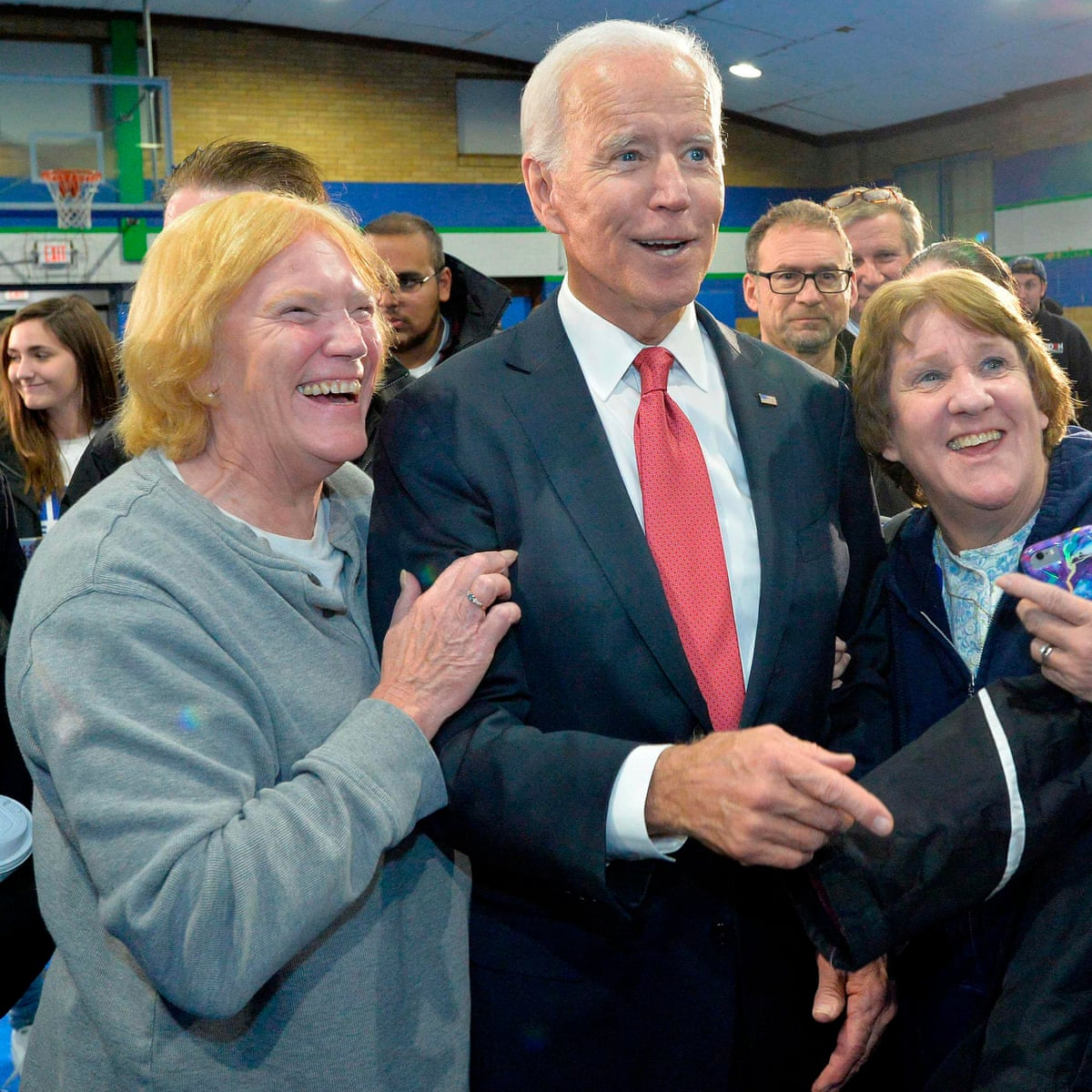 The Quest To Find Joe Biden S Young Supporters Do They Actually Exist Joe Biden The Guardian
