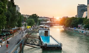 Badeschiff (bathing ship), a floating public swimming pool on the Danube in Vienna