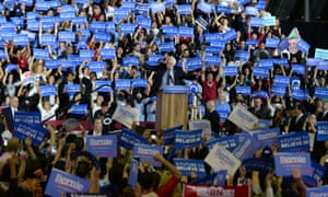 The SurveyUSA poll suggests Democrats are in a strong position to convert the positive energy from Sanders' challenge to Clinton into general election success.