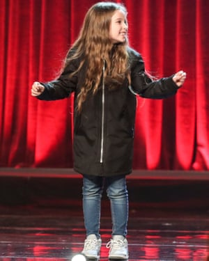 Issy Simpson, 8, was also a finalist in the BGT final.