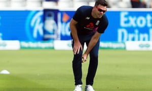 Jimmy Anderson bowled four overs at Edgbaston in the first Ashes Test this summer before injury ruled him out.