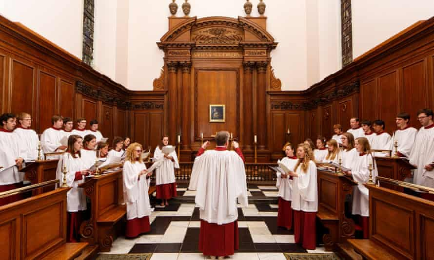 Quality and diversity … St Catharine's Cambridge Choir.