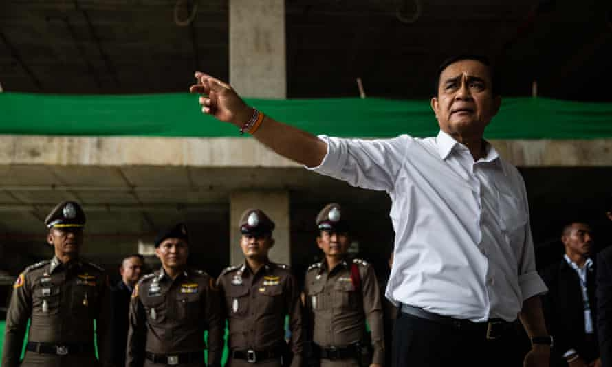 Thailand's prime minister Prayuth Chan-ocha faces he and his junta's first national election on Sunday since the 2014 coup.
