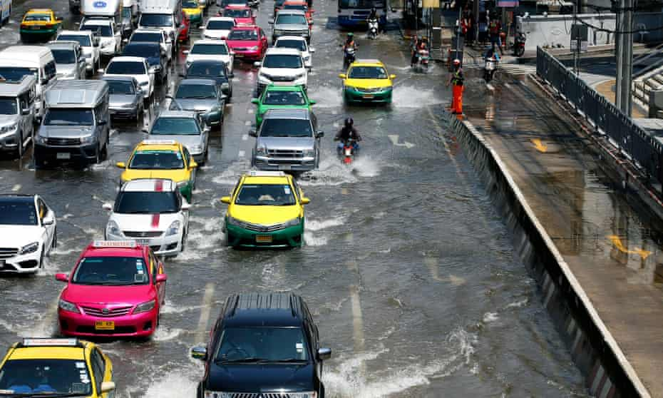 Bangkok is reimagined as a permanently flooded city.