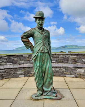 Here's Chaplin again, in Waterville, County Kerry, Ireland.