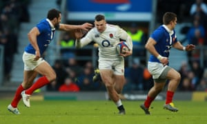 During England's victory over them at Twickenham the France team seemed petrified whenever the ball was anywhere near Jonny May.