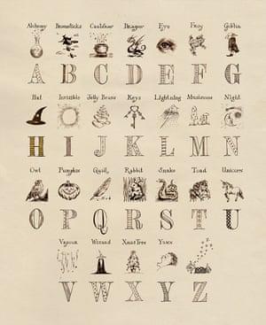A to Z of Harry potter
