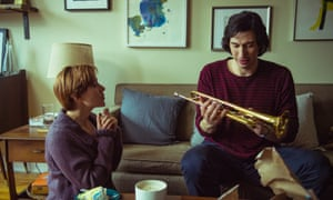 Scarlett Johansson and Adam Driver in Noah Baumbach's Marriage Story.