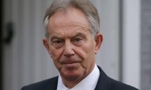 Tony Blair praised Theresa May as a 'very solid, sensible person'.