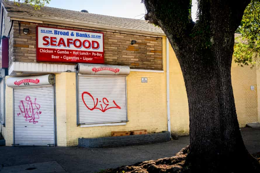 A closed corner store in the Mid-City Neighborhood of New Orleans, La., on Saturday, April 27, 2019.