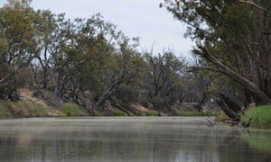The Barwon River near Brewarrina.