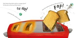 The Runaway Pea by Kjartan Poskitt and Alex Willmore.