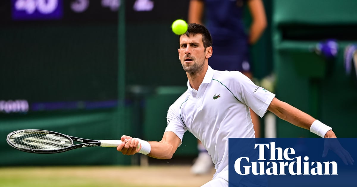 Novak Djokovic stands alone and above other Wimbledon semi-finalists