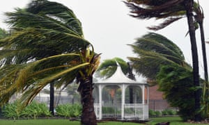 A cyclone hits Queensland