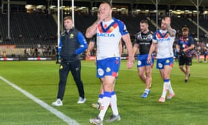 Great Britain's dismal tour fortunes are summed up by Josh Hodgson's crestfallen look as he leaves the field after the 23-8 defeat by New Zealand.