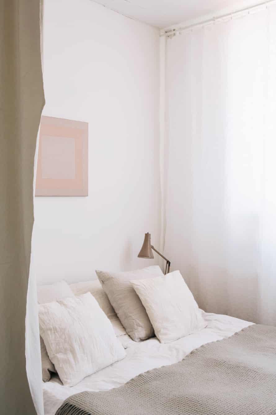 Małgorzata Bany bedroom