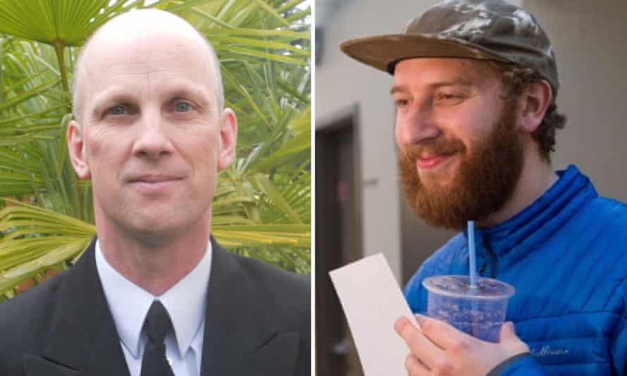 Ricky John Best and Taliesin Myrddin Namkai Meche, the two victims of the Portland double murder.
