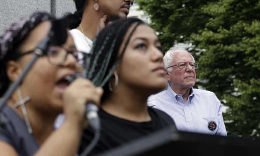 BLM interrupts Sanders