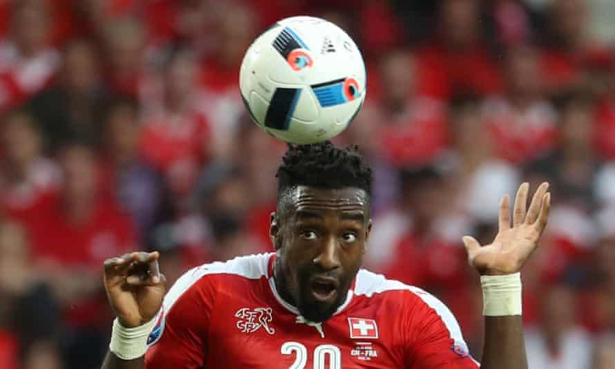 Johan Djourou will miss Switzerland's trip to Hungary.