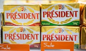 The President range from Lactalis