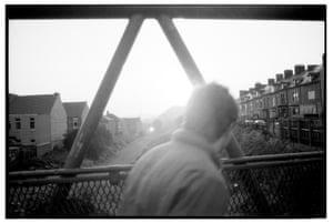 A view from a bridge, Lemington 1992.