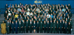 The UN millennium summit, the largest gathering of world leaders in history, took place on 6 September 2000 in New York