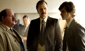 John Henshaw, David Morrissey and Andrew Garfield in Channel 4's Red Riding.