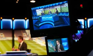 Behind the scenes of Sky TV's Monday Night Football show with Gary Neville and Jamie Carragher