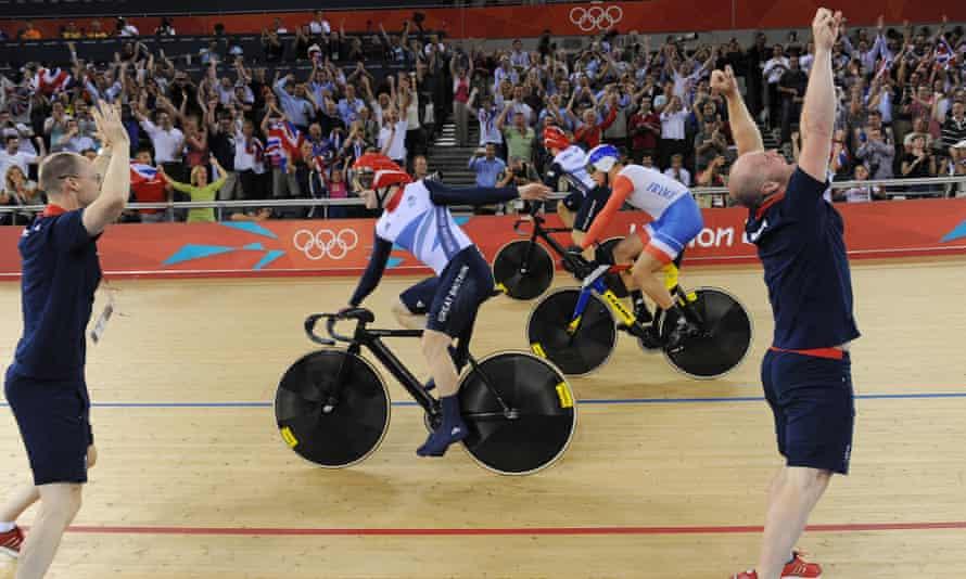 Team GB cyclists