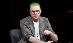 Christopher Wylie at The Business of Fashion conference in Oxfordshire.