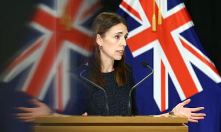New Zealand's prime minister Jacinda Ardern speaks during a press conference in Wellington