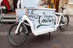 Innovative East London borough, Waltham Forest has launched World's first council-run cargo bike delivery service - Christmas Courier - set to reduce emissions, December 2016