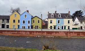 Flood systems installed in Cockermouth in 2012 included the UK's first self-closing flood barrier.