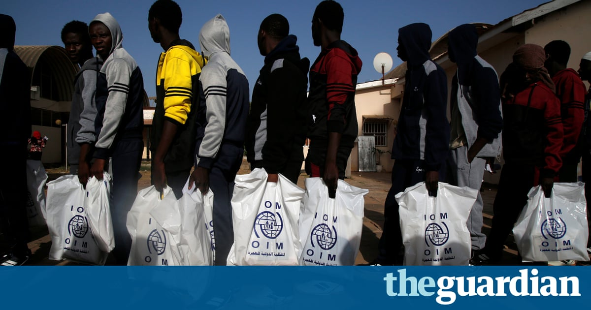 Migrants from west Africa being 'sold in Libyan slave markets'