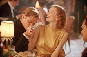Errol Flynn (Jude Law) and Katharine Hepburn (Cate Blanchett) in The Aviator
