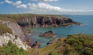 St Non's Bay, Pembrokeshire.