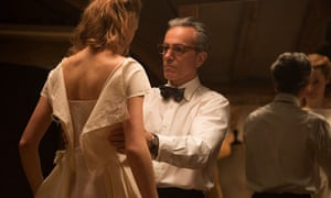Obsession with technique and craft … Vicky Krieps and Daniel Day-Lewis in Phantom Thread.