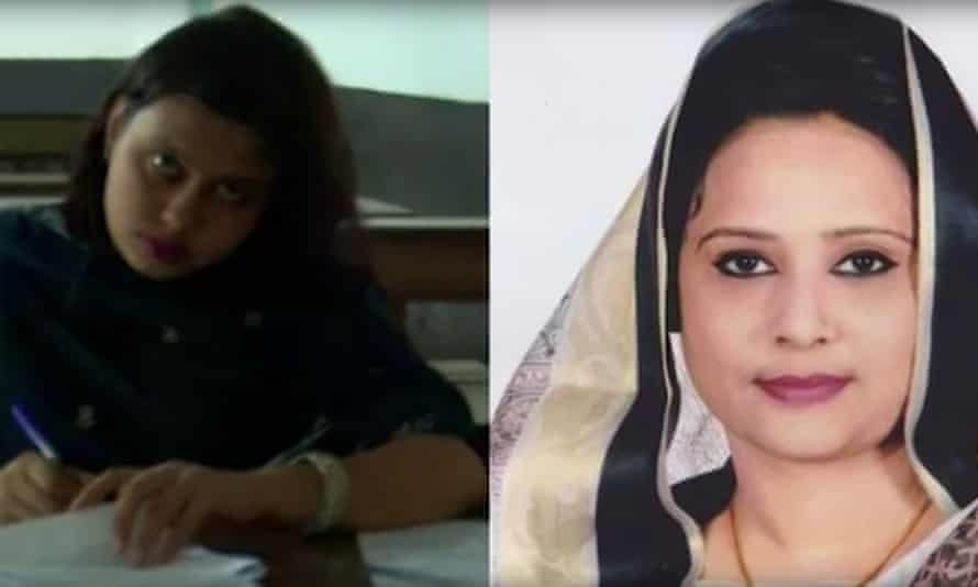 Tamanna Nusrat, from the ruling Awami League party, is accused of paying the lookalikes to pretend to be her in at least 13 tests