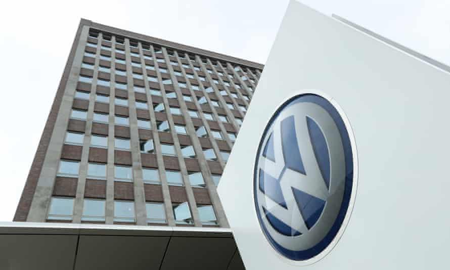 The Volkswagen head office in Wolfsburg, Germany