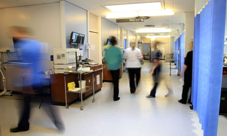 Medical staff on a hospital ward