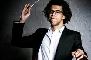 Conductor Jonathon Heyward drewed poised playing from the Chineke players.