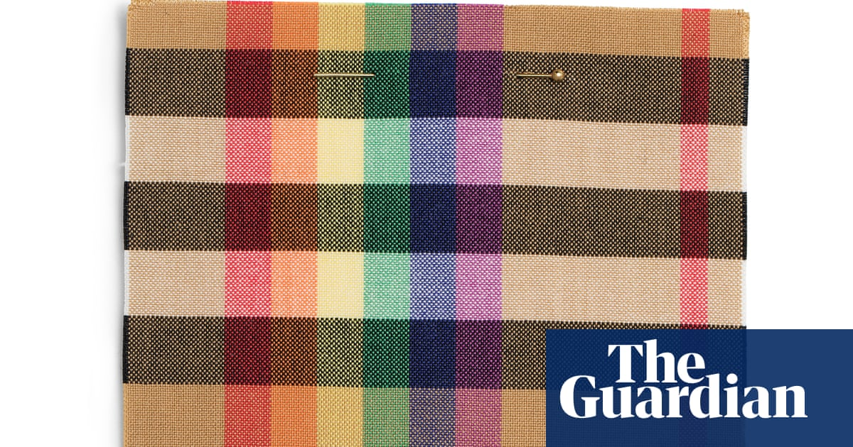 dacfa696de5 Trenches to rainbows  the story of the Burberry check   Fashion ...