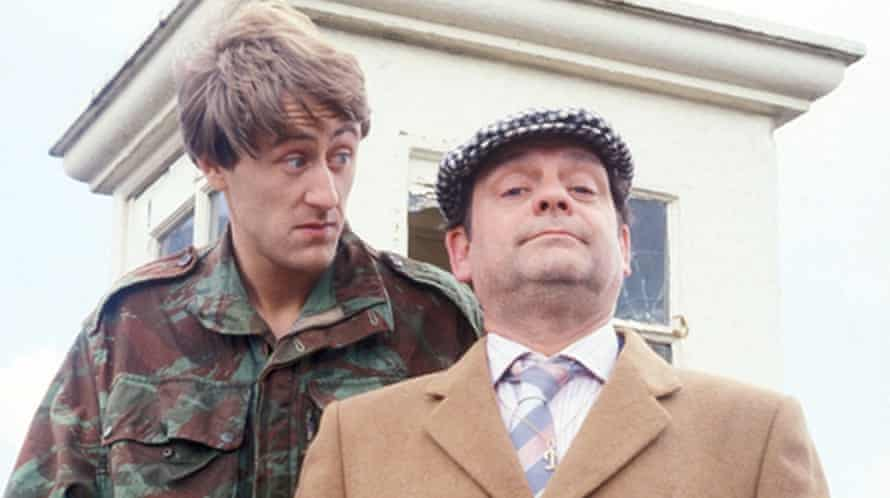 Nicholas Lyndhurst and David Jason in Only Fools and Horses.
