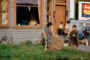 Family on Lawn, 1959 by Fred Herzog