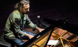 Milanese pianist Stefano Bollani.